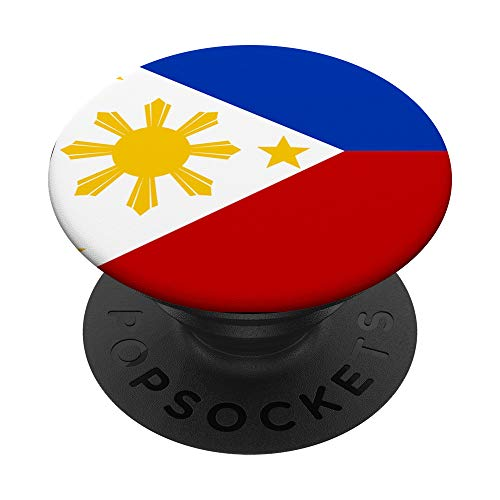 Filipino flag of Philipines PopSockets PopGrip: Swappable Grip for Phones & Tablets
