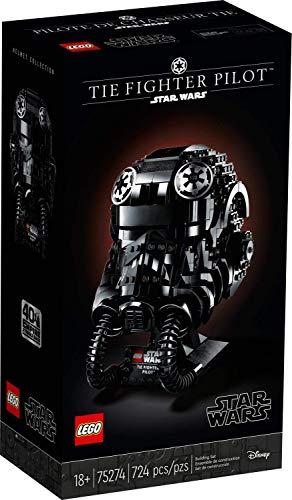 LEGO Star Wars 75274 Casco de Piloto de Caza TIE (723 piezas)