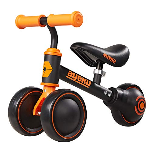 AyeKu Baby Balance Bike for 1 Year Old Boy Gifts Toddler Bike for One Year Old Toys 1 st First Birthday Gifts Baby Toys 12-24 Months