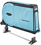 EVOC Bike Travel Bag Pro, Aqua Blue, Includes Bike Stand, Clip-On Wheel 2.0 and Frame Pad