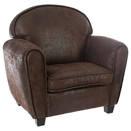Atmosphera - Club Brown Sessel für Kinderzimmer
