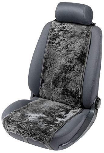 Walser Autositzbezug Lammfell Lammfellbezug Cosmo mit Reißverschlusssystem Autoschonbezug Lammfell schwarz