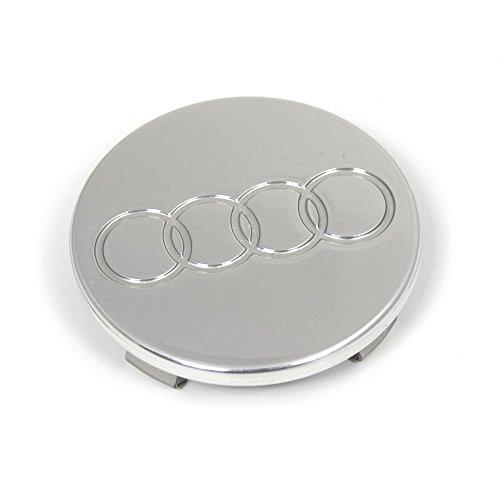 Audi 8N0601170Z33 Radzierkappe (1 Stück) Radabdeckung Felgendeckel Kappe Nabenkappe alu-poliert