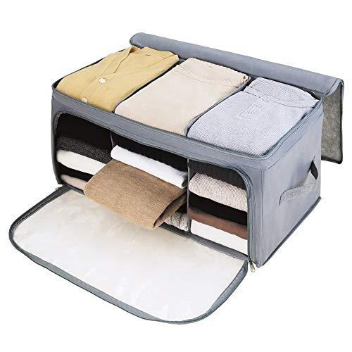 CJK Aufbewahrungstasche Für Bettdecken Und Kissen - Kleidung Lagerplätze, Bettwäsche, Decken Organisator Lagerbehälter, Haus Bewegen Tasche
