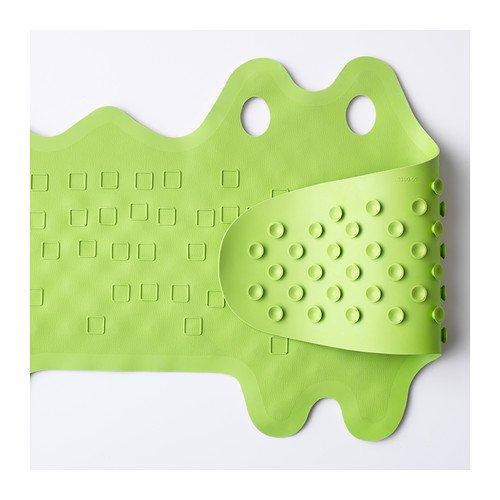 """IKEA - tapis de bain """"PATRULL"""" crocodile - pour enfants et bébés - caoutchouc naturel"""