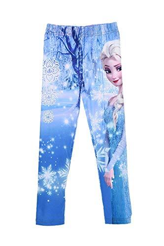Disney Frozen Anna und Elsa Legging, türkis mit Motiv (5 Jahre)