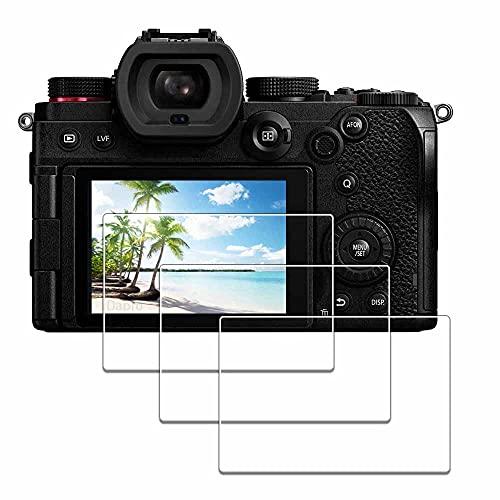 Protector de pantalla para Panasonic LUMIX S5 [3 unidades], iDaPro vidrio templado fácil instalación