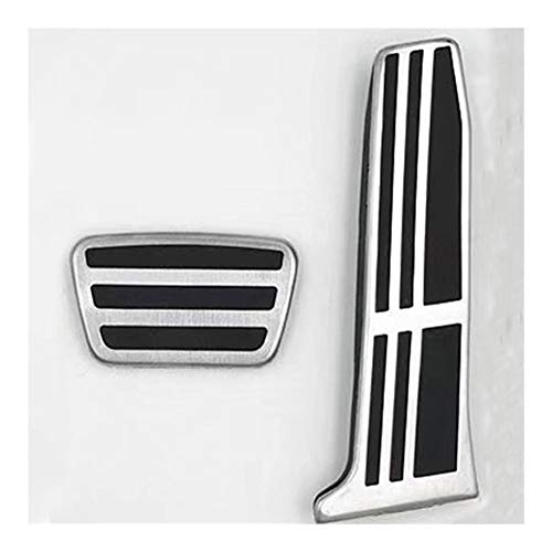 Yuanmei Auto-Kupplungs-Bremsen Gaspedal Fußablage Pedale Abdeckungen gepasst for Toyota Neue Camry 2018 2019 Avalon RAV4 2019 for Lexus ES GS (Color Name : 2 pcs)