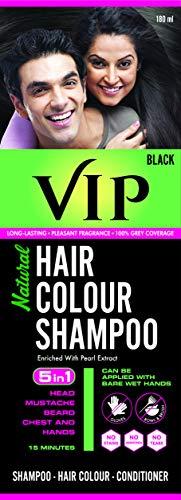 Vip Hair Color Shampoo, 180ml 1