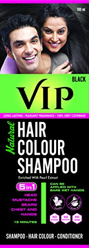 VIP Hair Color Shampoo, 180ml