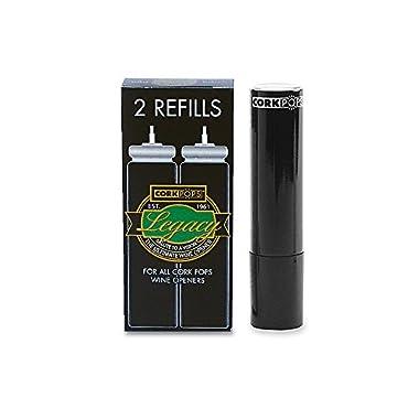 Cork Pops Refill Cartridges, 2-Pack