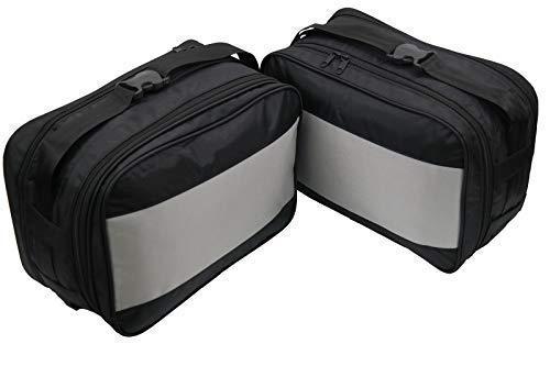 Ajuste Perfecto Bolso Interior de Maleta 1 Par para BMW Vario Maleta Modelos F650 GS, F700 GS, F800 GS, R1200 GS Motocicleta