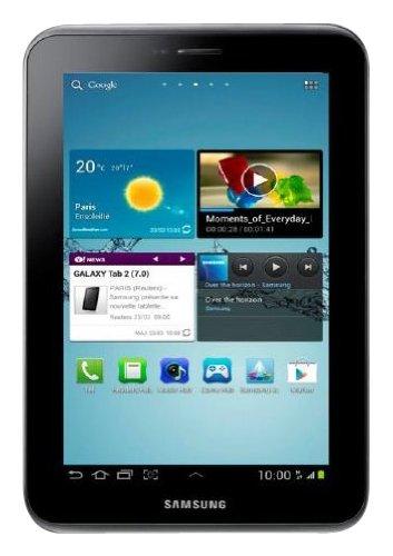 Samsung Galaxy Tab 2 7.0 P3110 WI-FI - Tablet de 7' (WiFi, 8 GB, Android 4.0), Negro[Importado]