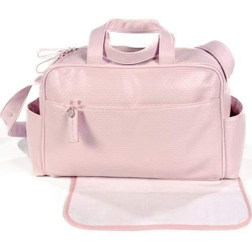 Pasito a pasito 73666 - Bolsa canastilla, diseño rosa new cotton