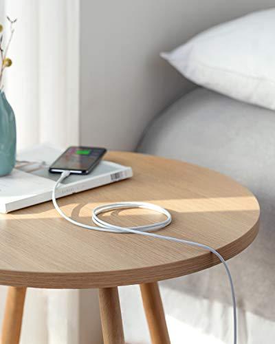 Anker Powerline II USB-C auf Lightning-Kabel, 180 cm lang, MFi-Zertifiziert, für iPhone SE/11/11 Pro/11 Pro max/X/XS/XR/XS Max / 8/8 Plus,für Typ-C Ladegeräte,Unterstützt Power Delivery (Weiß)