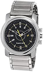 Fastrack Economy Analog Black Dial Men's Watch NM3039SM02 / NL3039SM02,Fastrack,NL3039SM02