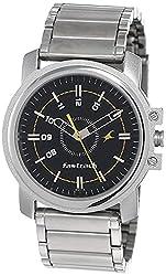 Fastrack Economy Analog Black Dial Men's Watch NM3039SM02 / NL3039SM02,Fastrack,NL3039SM02
