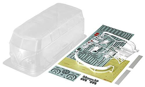 TAMIYA 51616 Karosserie-Satz VW Bus Type 2 (T1), Zubehör für ferngesteuertes Auto, Ersatzkarosserie, RC Modellbau