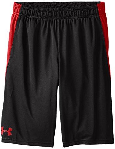 Under Armour - Fitness-Shorts für Jungen in Blk, Größe M