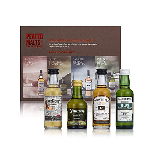 Peated Malts Of Distinction Whisky - 4 botellas