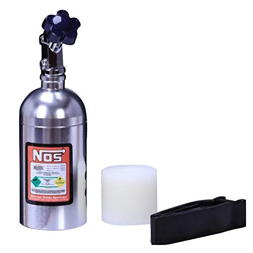 Lesueur 1 Pieza Ambientador De Aire De Reposición De Perfume Sólido De Coche Clip De Perfume De Salida Nos Aromaterapia Auto Disipar El Olor Peculiar Plata Fresa
