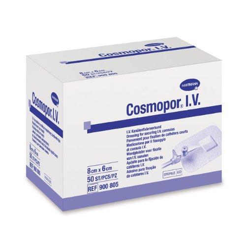 Cosmopor I.V. Kanülenpflaster 8 x 6 cm