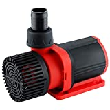 Yochaqute Pond Fountain Submersible Pump: DC 24V 60W 2245 GPH Max Lift 19 Ft for Garden Waterfall   Irrigation   Outdoor Water Circulation System   Koi Pool   Aquarium