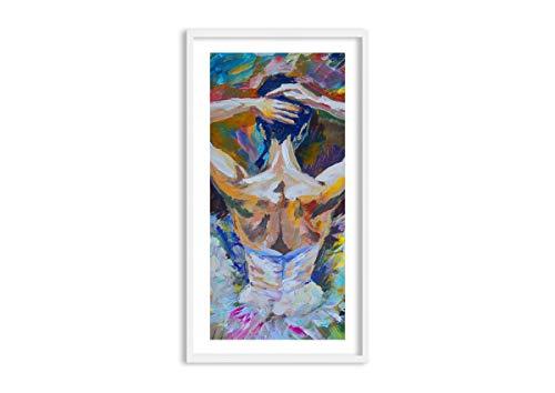 ARTTOR Lienzos Decorativos - Cuadros Decoracion Salon con Marco. Cuadros Modernos Baratos - Muchos Tamaños y Varios Temas Gráficos. Decoraciones para el Apartamento - F1WPA55x100-3503