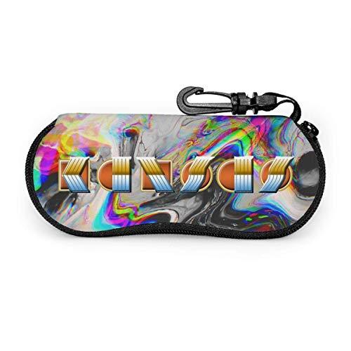 YZXC Adajay Kan-SAS Band Logo Estuche para gafas ultraligero portátil