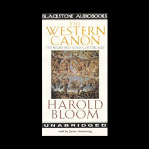 The Western Canon audiobook cover art