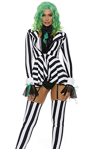 Forplay Women's Got The Juice Sexy Movie Character Costume, Black, S/M