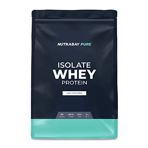 Nutrabay Whey Protein Isolate (Unflavoured) - 1 kg | Raw Whey from USA | 33 servings