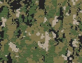 MST DESIGN Wassertransferdruck WTD Camouflage grün CA R 044 1 m 50 cm Breite Film/Wassertransferdruckfilm WTP Water Transfer Printing Hydrographics