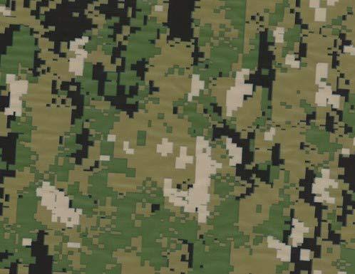 MST-Design Wassertransferdruck Folie I Starter Set Klein I WTD Folie + Dippdivator/Aktivator + Zubehör I 4 Meter mit 50 cm Breite I Camouflage grün I CA-R-044