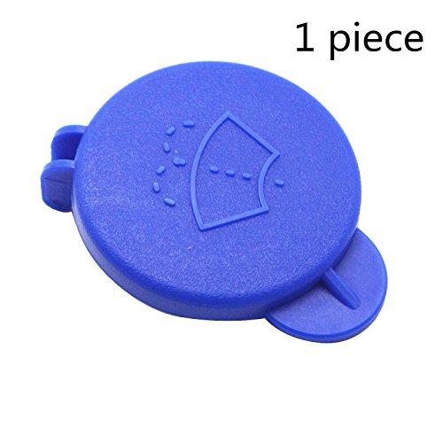 TAKPART Blau Auto Wassertankdeckel Tankdeckel Windschutzscheiben-Scheibenwaschflaschenverschluss Scheibenwasch Kronkorken Kompatibel für Fiesta MK6 2001-2008 1488251