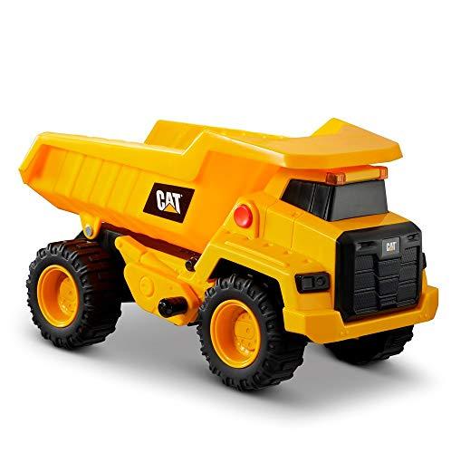 Caterpillar, Cat Power Haulers Camion della Spazzatura Veicolo da Costruzione, Colore Giallo, Nero, 82266