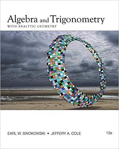 [0840068522] [9780840068521] Algebra and Trigonometry with Analytic Geometry (College Algebra and Trigonometry) 13th Edition-Hardcover