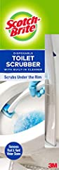 Genuine scotch-brite brand scrubbing power Shaped to access stains hidden under the rim Built-in bleach alternative cleaner with pumice scrubs away rust and hard water stains Flexing head design allows maximum contact with the toilet bowl Contains 5 ...
