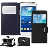 iPOMCASE Coque pour Samsung Galaxy Grand, Grand Plus Noir