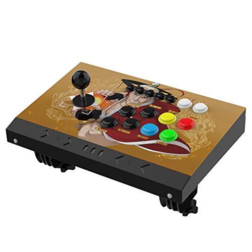 DOYO Arcade Joystick Machine Video Game Arcade Fight Stick para el hogar, compatible con NEOGEO Mini / PC / PS Classic / Nintendo Switch / PS3 / Android / Raspberry Pi