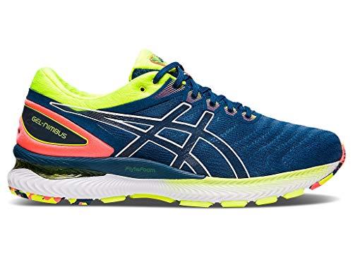 ASICS Men's Gel-Nimbus 22 Running Shoes, 11.5M, MAKO Blue/MAKO Blue