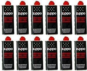 Feuerzeugbenzin ZIPPO 12x Zippo Benzin Original Benzin je 125 ml