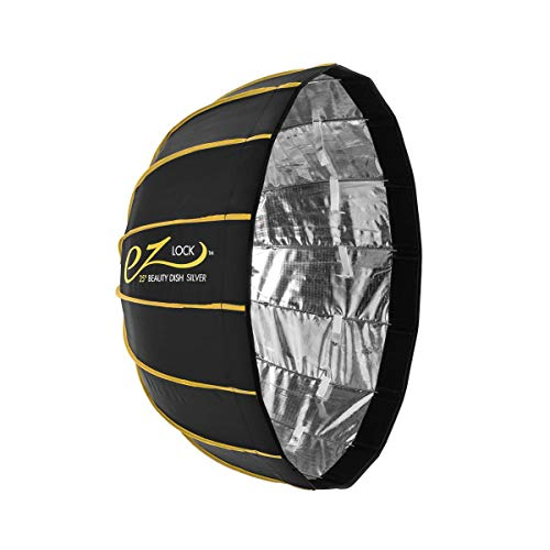 "Glow EZ Lock Collapsible Silver Beauty Dish (25"")"