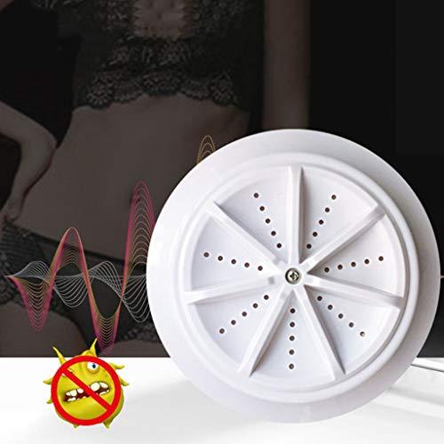 Mini-Turbinen Waschmaschine Waschmaschine, Wäsche USB Small Cleaner Device Energiesparende Rotary Controller Wäschewaschanlage für Camping, Apartments, Schlafsäle, College-Räume, Wohnmobile, Feinwäs