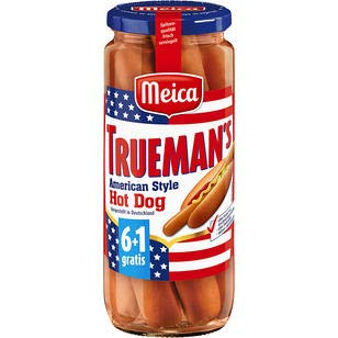 Meica Trueman's Hot Dog, 12er Pack, 12 x 350 g