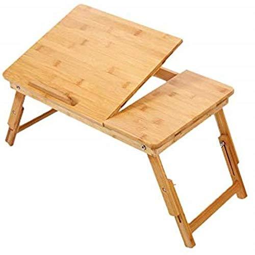 Coffee Table Muebles de sala de estar Mesa plegable de computadora pequeña mesa ajustable para escritorio de cama portátil escritorio de 50 cm Mini (color: A)
