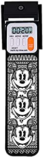 Mark-My-Time 3D Disney Mickey Fractal Digital LED Booklight and Reading Timer - Black