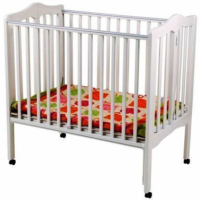 Delta Fold Away 3-in-1 Portable Crib - White