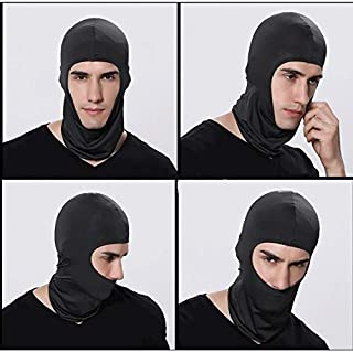 GGJIN Outdoor Lycra Full Face Mask Balaclava Ski Neck Summer Sun Ultra UV Protect