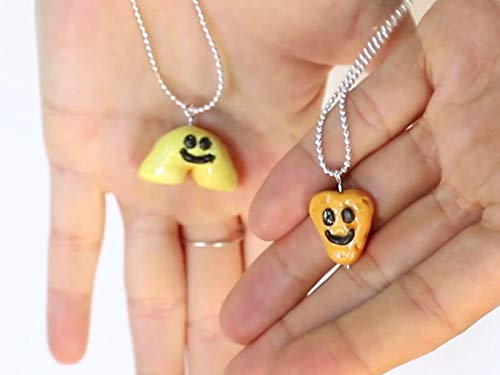 DIY Mac and Cheeese B.F.F. Necklaces!